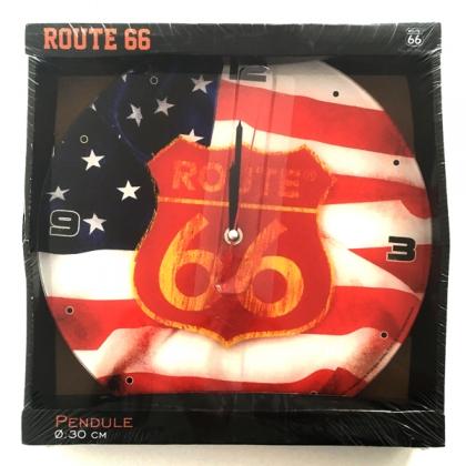 """Pendule Route 66 """"Flag"""""""