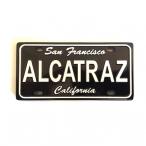"""Magnet San Francisco """"Alcatraz"""" métal couleur noire"""