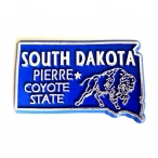 "Magnet USA ""Dakota du Sud"" Bleu"