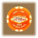 Jeton de casino aimanté Las Vegas $500 orange