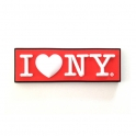 "Magnet ""I Love New York"" rouge"