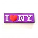 "Magnet ""I Love New York"" mauve"
