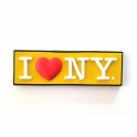 "Magnet ""I Love New York"" jaune"