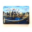 "Magnet New York ""Brooklyn Bridge"" en relief"