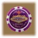 Jeton de casino aimanté Las Vegas $10000 violet