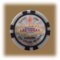 Jeton de casino aimanté Las Vegas $100.000 gris