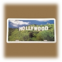 Plaque Métallique Hollywood